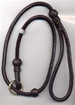 Braided slip lead