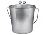 Pail with hooks